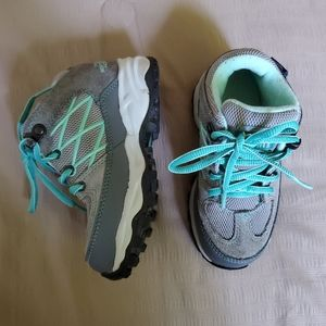 North Face Hiking Boot Teal Girls 10